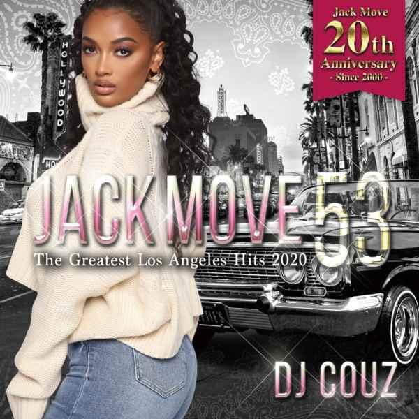 2枚組 2020 ヒップホップ R&B DJカズJack Move 53 -The Greatest Los Angeles Hits 2020- / DJ Couz