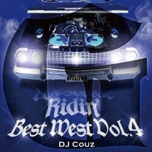 最強のギャングスタラップミックスワールド!【洋楽CD・MixCD】Best West Vol.4 -G- / DJ Couz【M便 2/12】