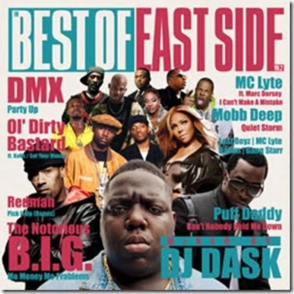 95~99年名曲ニューヨークHIPHOP!【洋楽 MixCD・MIX CD】The Best Of Eastside Vol.2 / DJ Dask【M便 2/12】