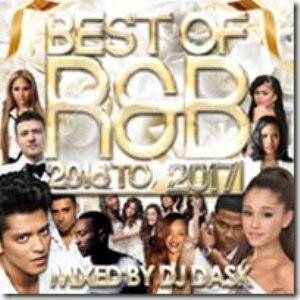 2016年~2017年産の良質なR&Bを厳選!【洋楽CD・MixCD】The Best Of R&B 2016 to 2017 / DJ Dask【M便 2/12】