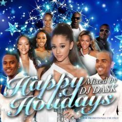 あえて派手な曲や王道クリスマスソングを外した絶品Mix!【MixCD・MIX CD】Happy Holidays / DJ Dask【M便 2/12】