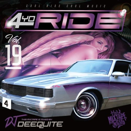 BPM早めのアッパーG-FUNKを中心に収録!【洋楽CD・MixCD】4Yo Ride Vol.19 / DJ Deequite【M便 2/12】