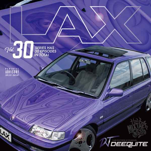 最新New WestやLAメインストリーム! 洋楽CD MixCD Lax Vol.30 / DJ Deequite【M便 2/12】
