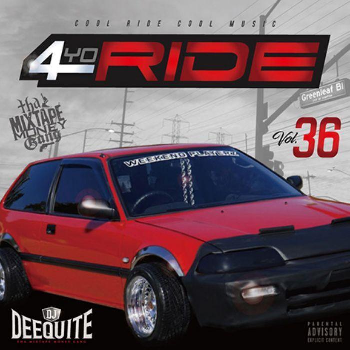 90年代~2000年代初期のギャングスタラップ! 洋楽CD MixCD 4Yo Ride 36 / DJ Deequite【M便 2/12】
