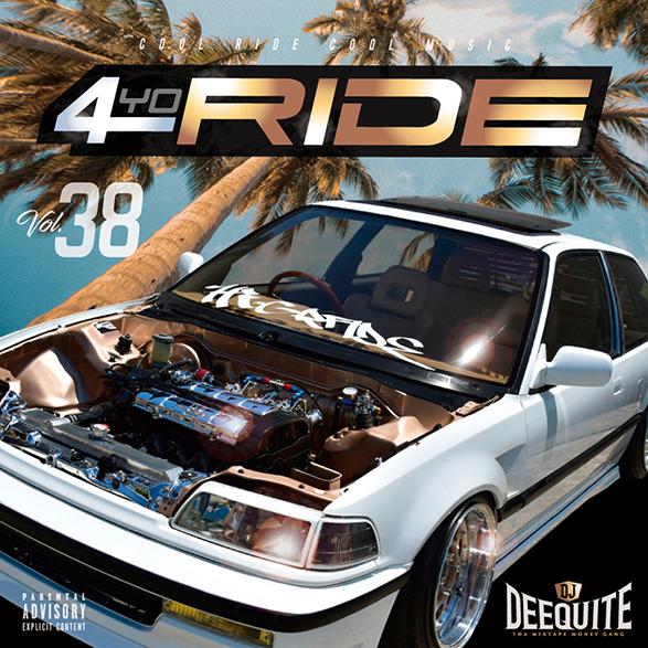 ウエッサイ G-Rap ギャングスタラップ 人気シリーズ4Yo Ride Vol.38 / DJ Deequite