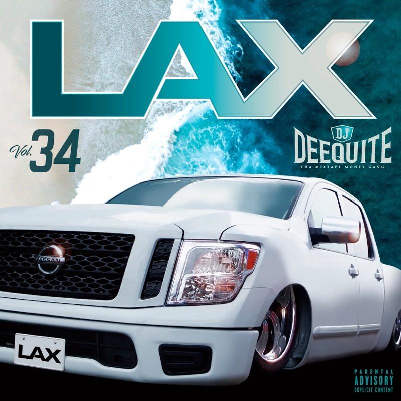ウエストコースト 新譜 2021 人気シリーズLax Vol.34 / DJ Deequite