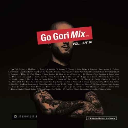 新譜 ヒップホップ R&B ポップス 2020年 エドシーラン マルーン5Go-Gorimix Vol,Jan '20 / DJ Gori