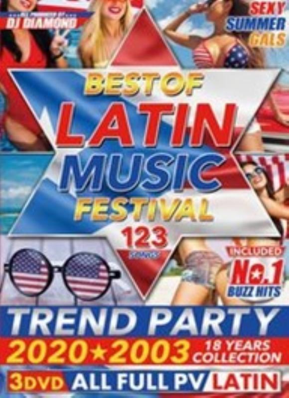 ラテン ベスト PV集 ミュージックビデオBest Of Latin Music Festival / DJ Diamond