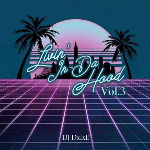 DJ DxIxE ソウル R&BLivin'In Da Hood Vol.3 / DJ DxIxE
