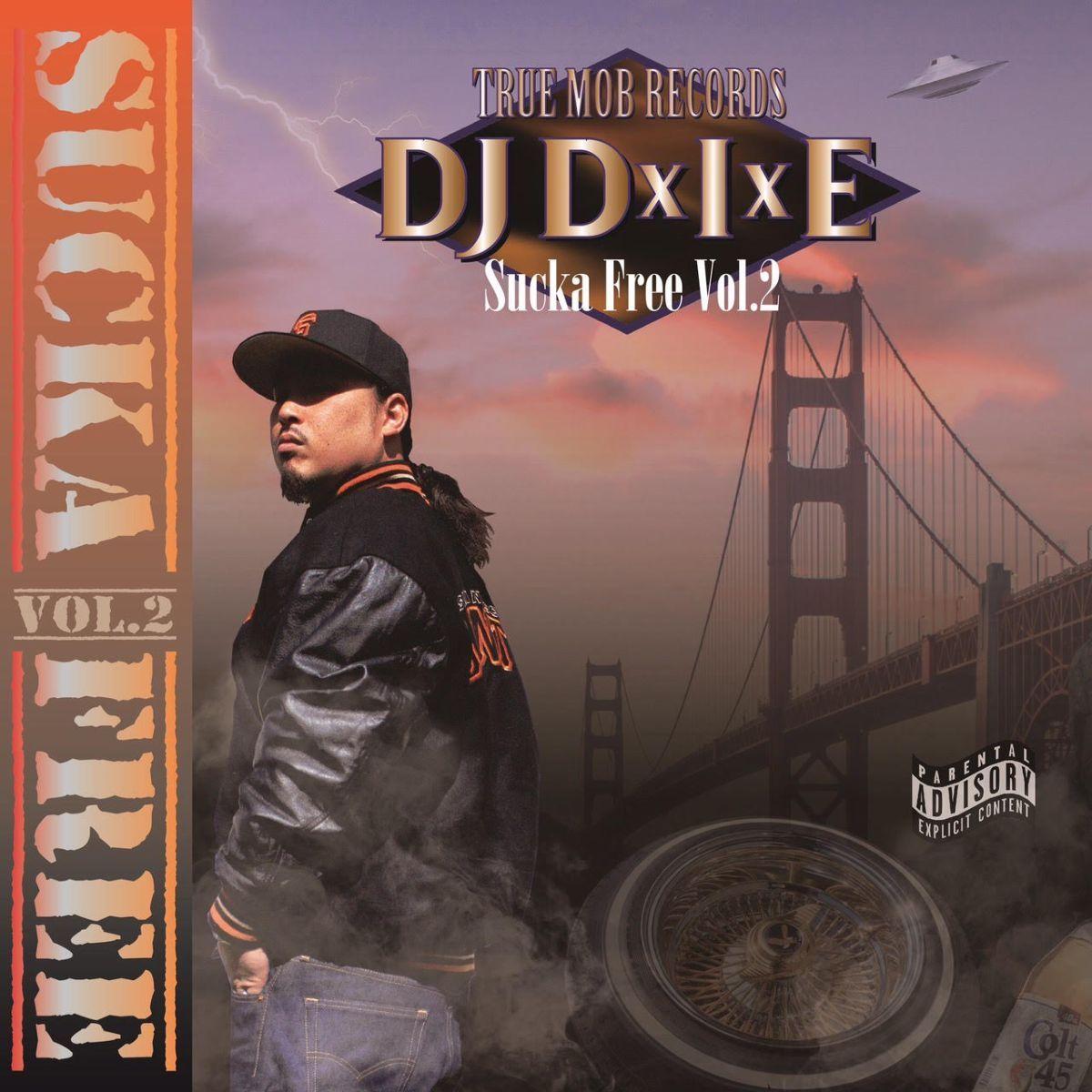 ウエッサイ ヒップホップ ラップSucka Free Vol.2 / DJ DxIxE