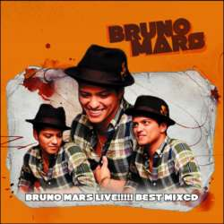 Bruno Mars『ライヴ音源のみ』!!【MixCD】Bruno Mars Live!!!!! Best Mix -CD-R- / Tape Worm Project【M便 2/12】