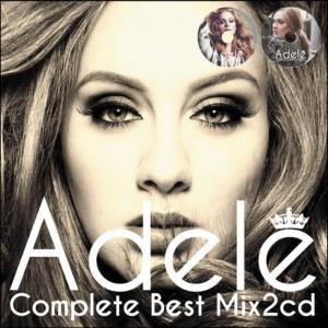 世界中の女性達から愛されている歌姫のベスト!【洋楽 MixCD・MIX CD】Adele Complete Best Mix -2CD-R- / Tape Worm Project【M便 2/12】