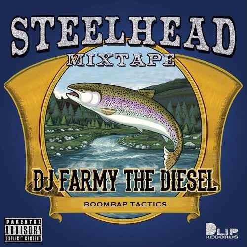 ブラックバターシリーズ ヒップホップ 2018 2019 DJファーミーThe Blaq Butta' #001 -Steelhead- / DJ Farmy aka Farmy The Diesel