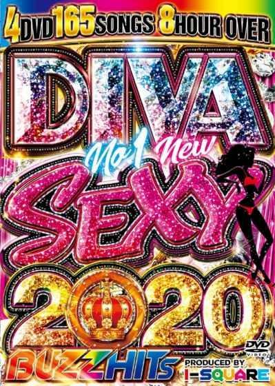 洋楽DVD 2020 4枚組 超絶セクシー美女PV セレーナゴメス ニッキーミナージュDiva No.1 New Sexy 2020 Buzz Hits / I-Square