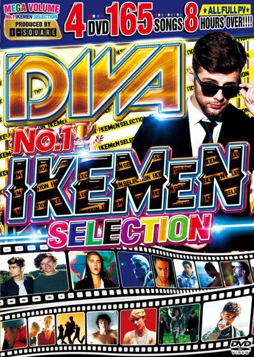 4枚組 イケメン PV集 ジャスティンビーバー ショーンメンデス 等収録Diva No.1 Ikemen Selection / I-Square
