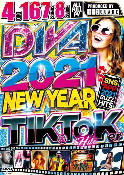 2021 洋楽PV集 新年 4枚組 人気シリーズDiva 2021 -New Year Tik & Toker Hits / I-Square