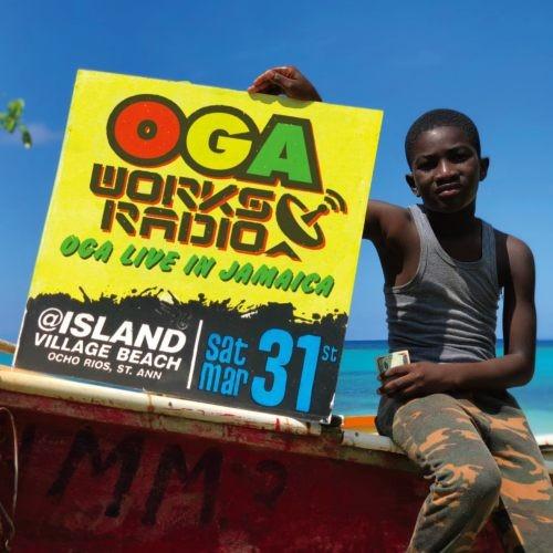レゲエ・オガラジOga Works Radio Mix Vol.8 -Oga Live In Jamaica- / Oga Jahworks