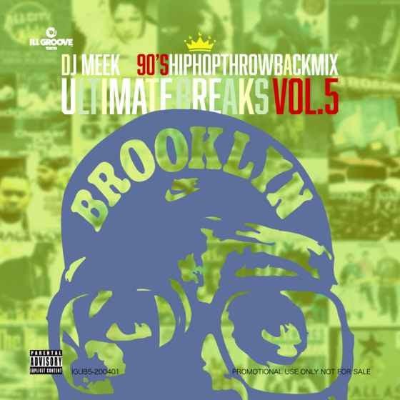 ヒップホップ DJミーク 90年代 黄金期 永久保存版Ultimate Breaks Vol.5 / DJ Meek