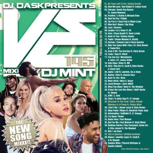 ヒップホップ・R&B・トップ40・新譜・アリアナグランデ・ピットブルDJ Dask Presents VE195 / DJ Mint