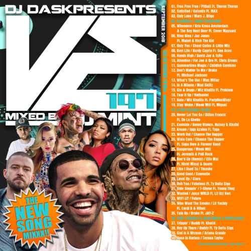 新譜・ヒップホップ・R&B・キャッチー・メロウ・ウィズカリファ・ジャスティンティンバーレイクDJ Dask Presents VE197 / DJ Mint
