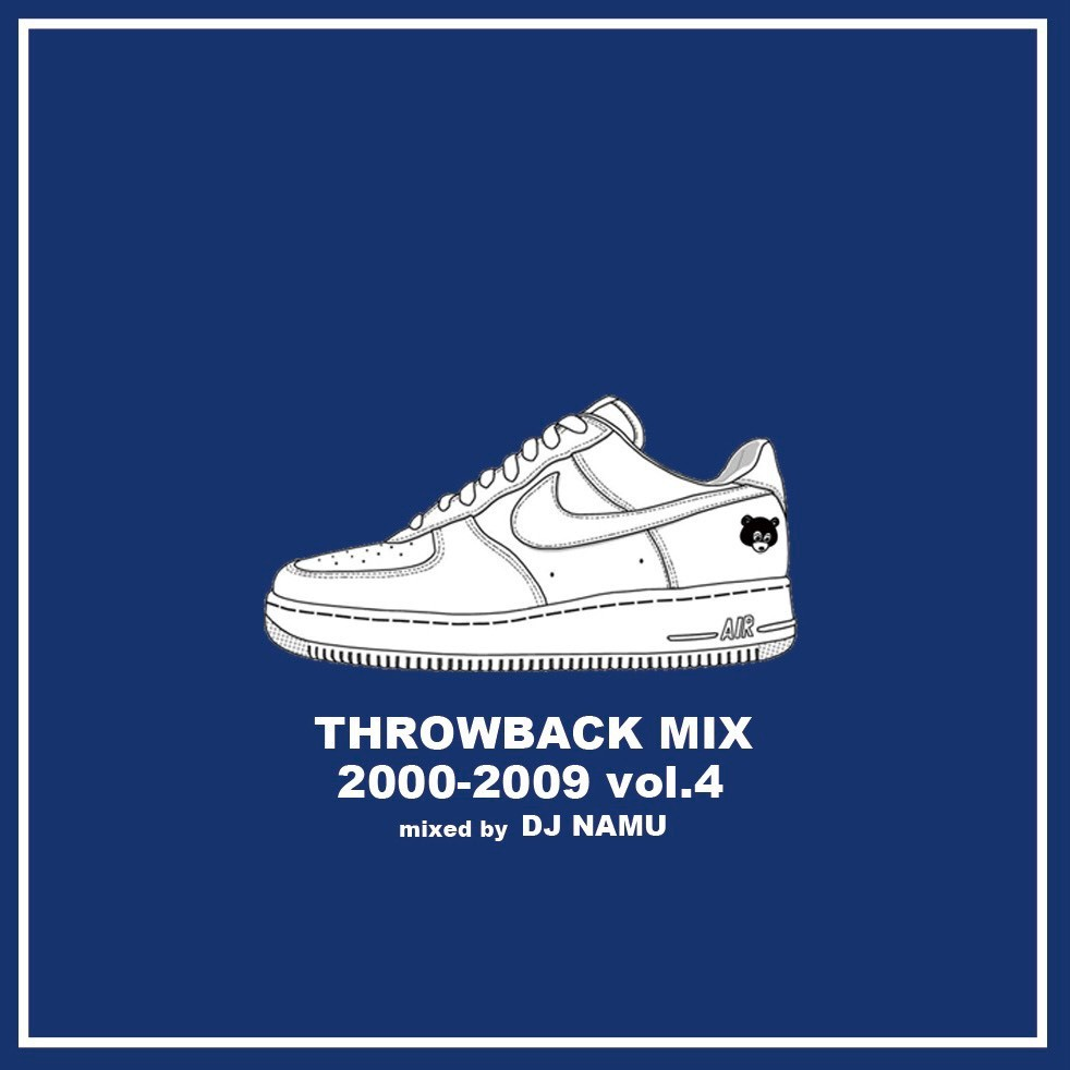 2000年代Hip Hopの名曲を網羅! 洋楽CD MixCD Throwback Mix 2000-2009 Vol.4 / DJ Namu【M便 1/12】