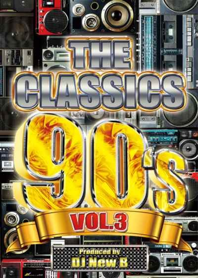 黄金期の名曲が再び甦る!! 洋楽DVD MixDVD The Classics 90's Vol.3 / DJ New B【M便 6/12】