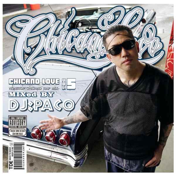 チカーノラップ 限定プレス ウエストコースト DJパコChicano Love Vol.5 / DJ PaCo