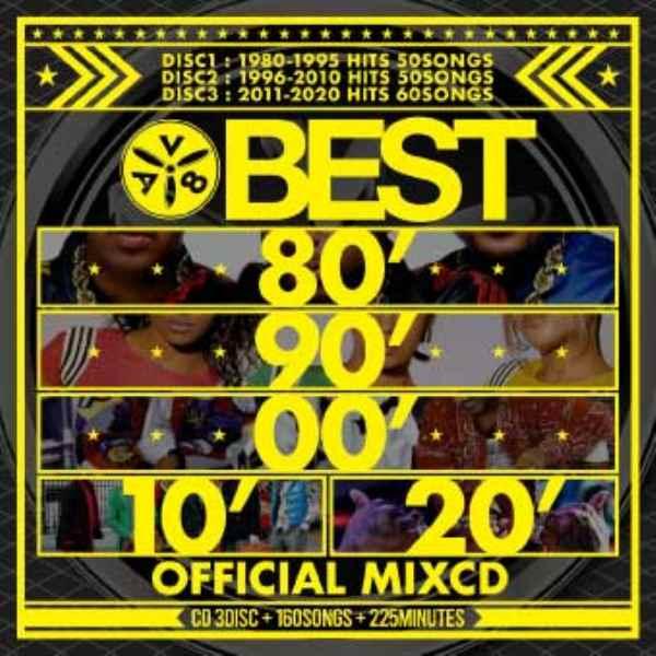 40年間 永久保存版ベスト 全150曲 ノンストップミックスBest 80' 90' 00' 10' 20' -Official MixCD- / AV8 All DJ's