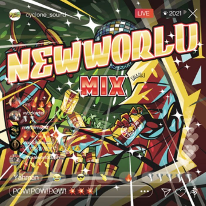 現場重視のAll Jamaican Best Jugglin Mix! 洋楽CD MixCD New World Mix / Rodem Cyclone【M便 2/12】