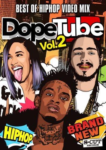Hip HopのMVのみを収録!【洋楽DVD・MixDVD】Dope Tube Vol.2 / V.A【M便 6/12】