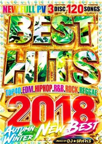 洋楽 DVD 2018 年 アリアナグランデ マルーン5Best Hits 2018 Autumn-Winter / DJ★Sparks