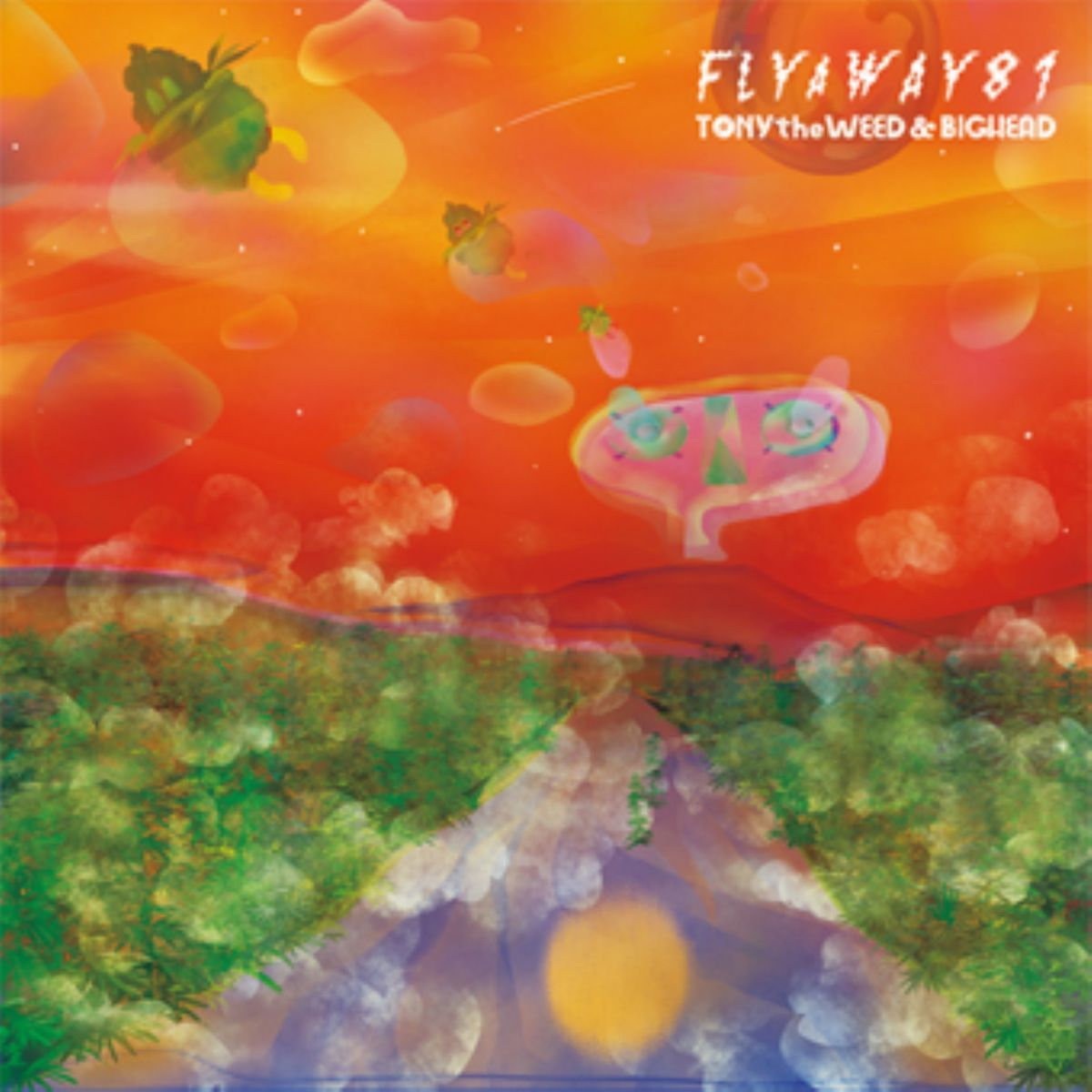 レゲエ ダブ アルバムFly A Way 81 / Tony The Weed & Big Head