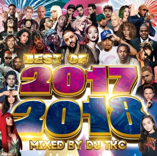 今話題の曲ばかり詰め込んだメガミックス!【洋楽CD・MixCD】Best Of 2017-2018 / DJ TKC【M便 1/12】
