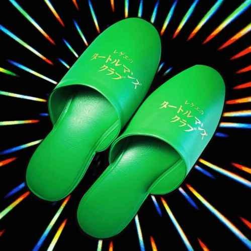 スリッパ 緑 グリーン フリーサイズ タートルマンズクラブTurtle Man's Club スリッパ ※超特典おまけCD「ジャパニーズレガエ2」 / Turtle Man's Club