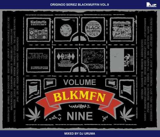 レゲエ ヒップホップ DJウルマ Blackmuffin Vol.9 / DJ Uruma