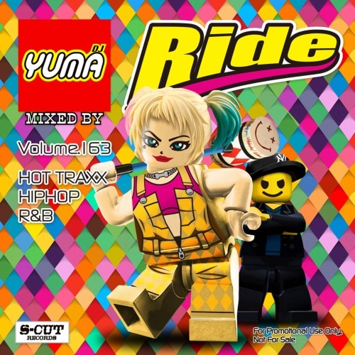 最新Hip Hop R&BをGroove Mixでお届け! 洋楽CD MixCD Ride Vol.163 / DJ Yuma【M便 2/12】