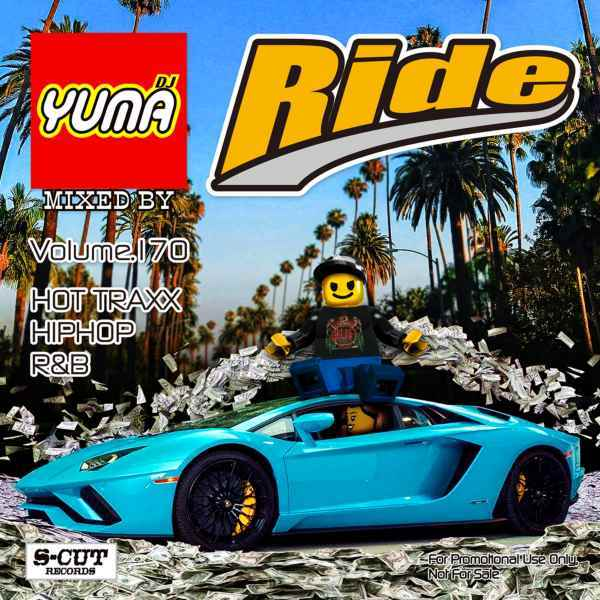 最新Hiphop,R&Bチェックならコレ! 洋楽CD MixCD Ride Vol.170 / DJ Yuma【M便 2/12】