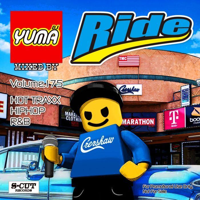 最新ヒップホップ、R&Bを流れるようなMixで! 洋楽CD MixCD Ride Vol.175 / DJ Yuma【M便 2/12】