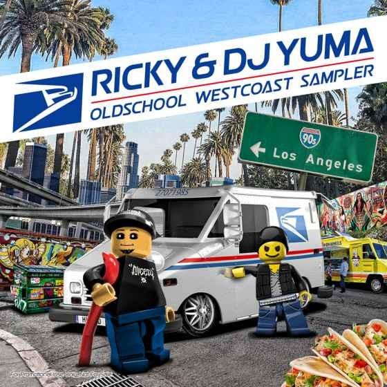 ウエッサイ サンプリングソース オールドスクール DJユーマ リッキー コラボOldschool Westcoast Sampler / Ricky & DJ Yuma