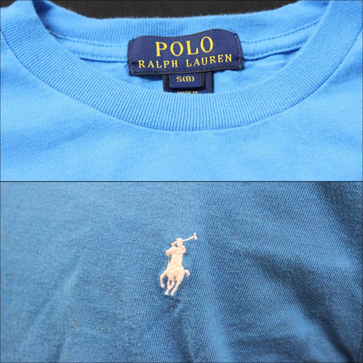 ポロラルフローレンキッズ POLO RALPH LAUREN CHILDREN 正規品 子供服 ボーイズ 半袖Tシャツ COTTON S/S CREW TEE 323511047027