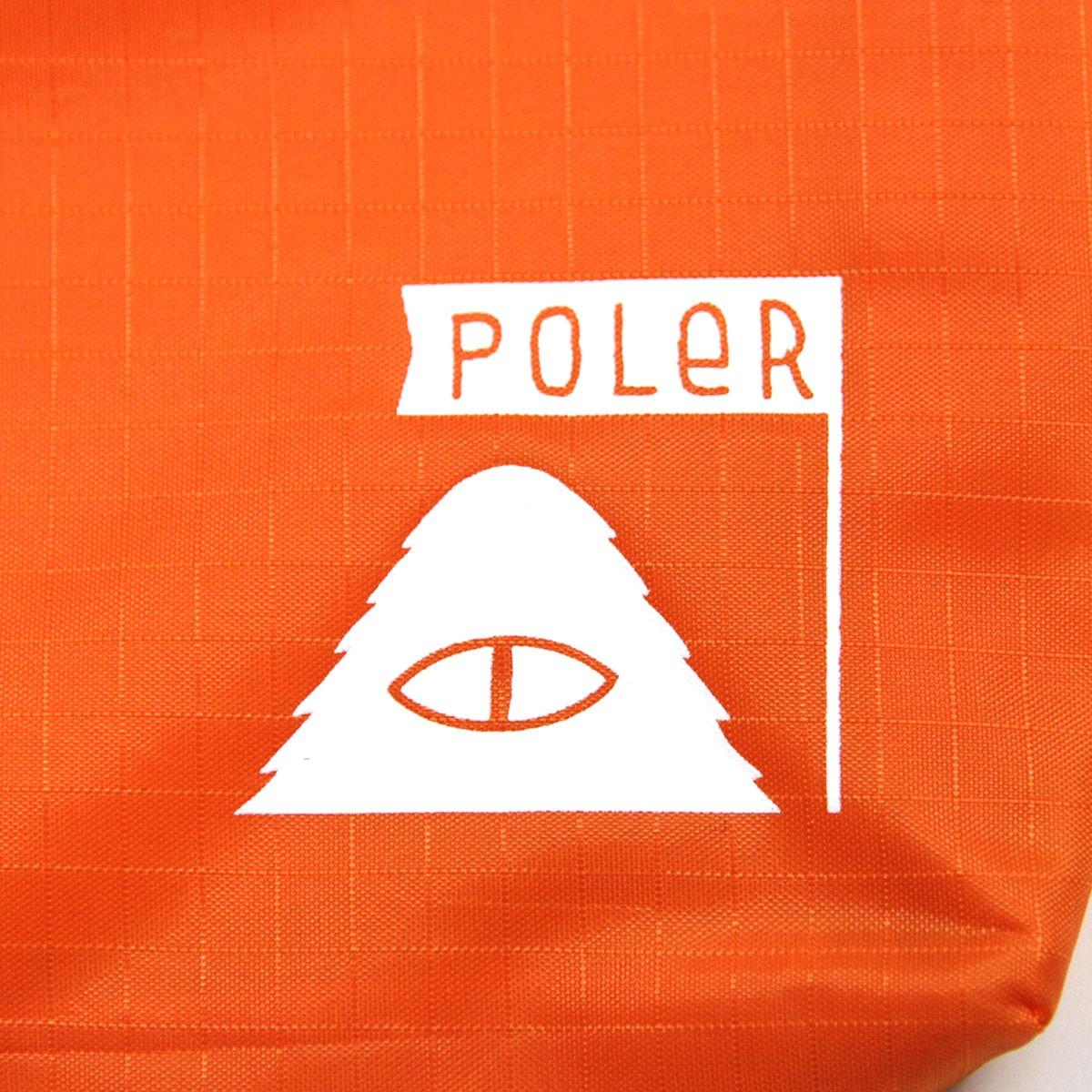 ポーラー POLER 正規販売店 ポーチ LARGE STUFFABLE POUCH 712051-BNT BURNT ORANGE