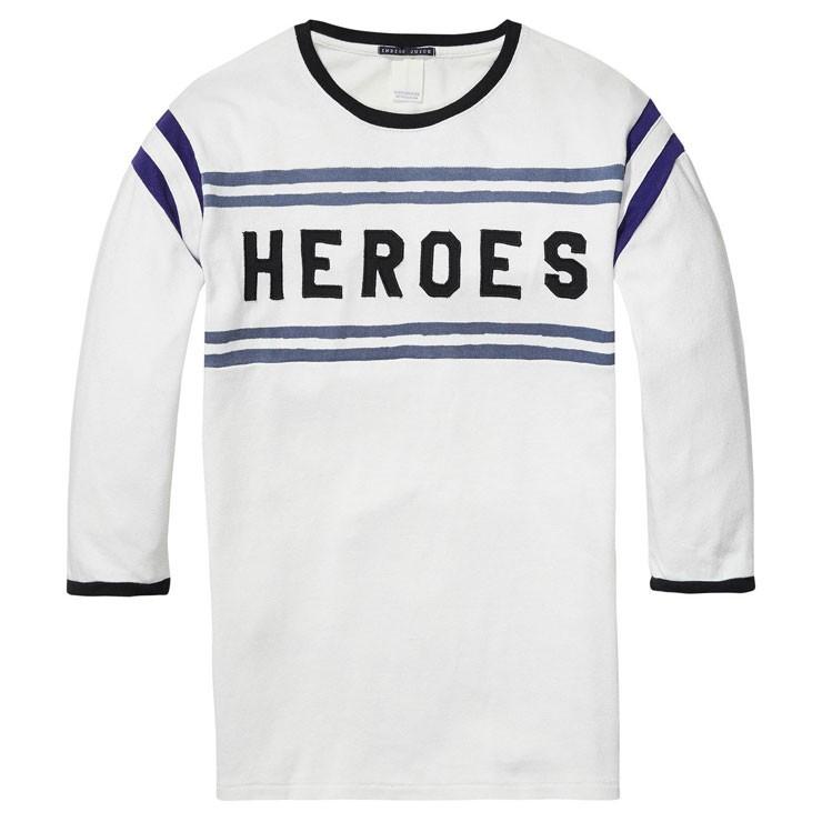 スコッチアンドソーダ SCOTCH&SODA 正規販売店 メンズ 七分袖Tシャツ  VINTAGE SPORTS T-SHIRT 134298 17 COMBO A