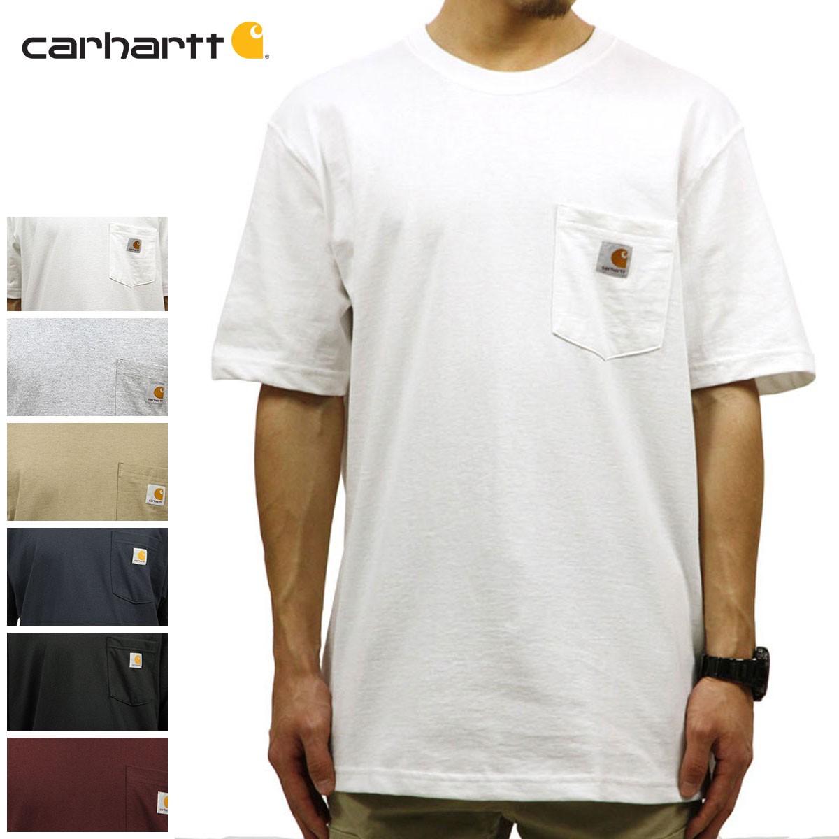 カーハート ワークポケットTシャツ K87の商品画像|2