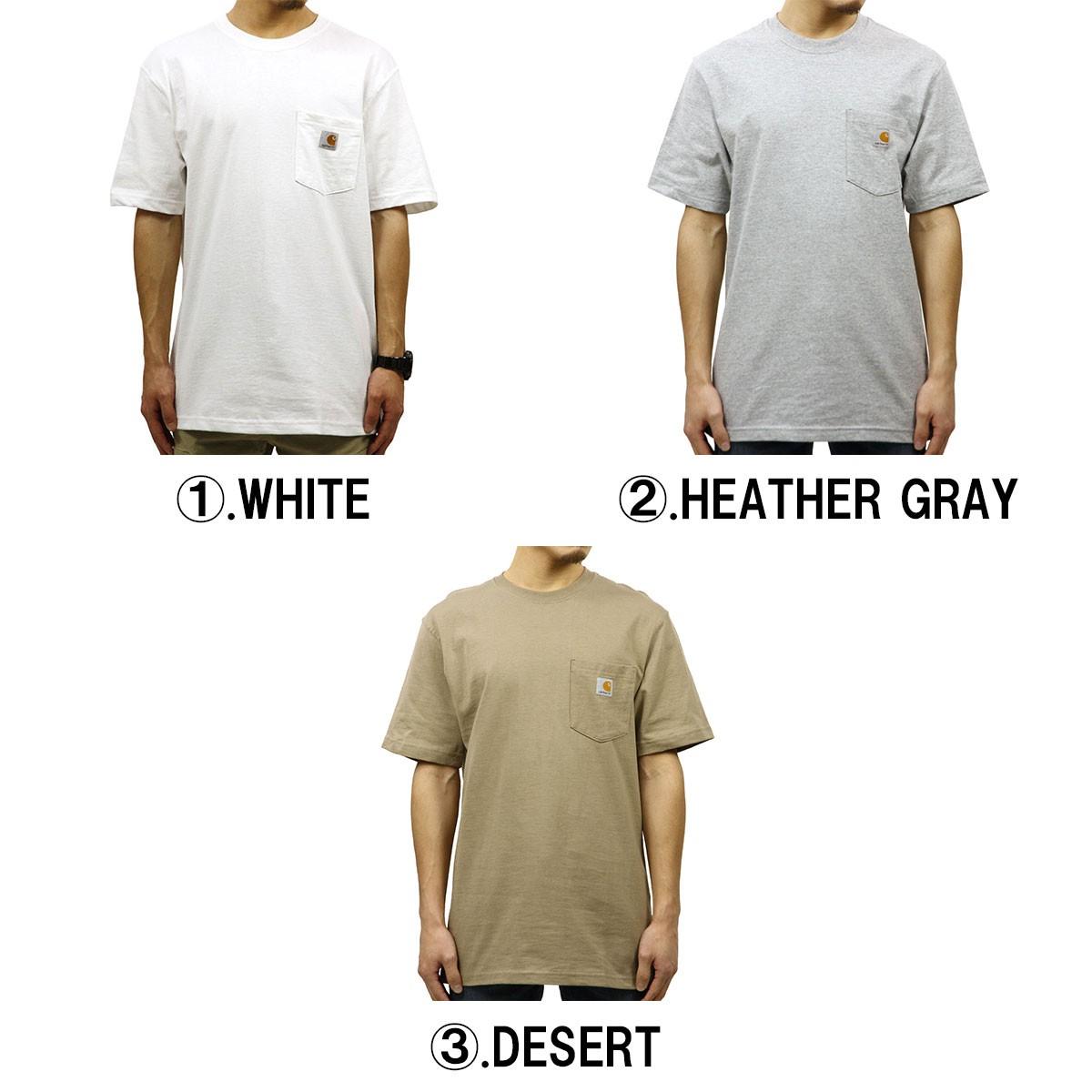 カーハート ワークポケットTシャツ K87の商品画像|3