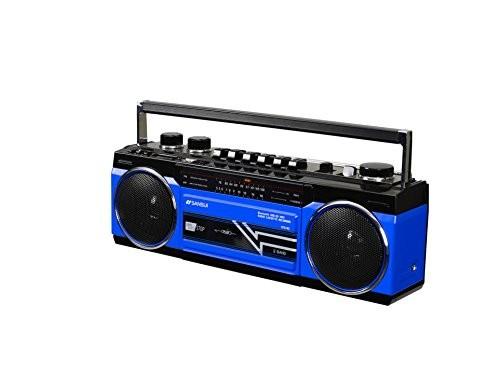 ステレオラジオカセット SCR-B2(BL) ブルーの商品画像 2