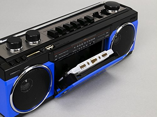 ステレオラジオカセット SCR-B2(BL) ブルーの商品画像 3