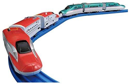 タカラトミー プラレール E5系新幹線&E6系新幹線連結セットの商品画像|ナビ