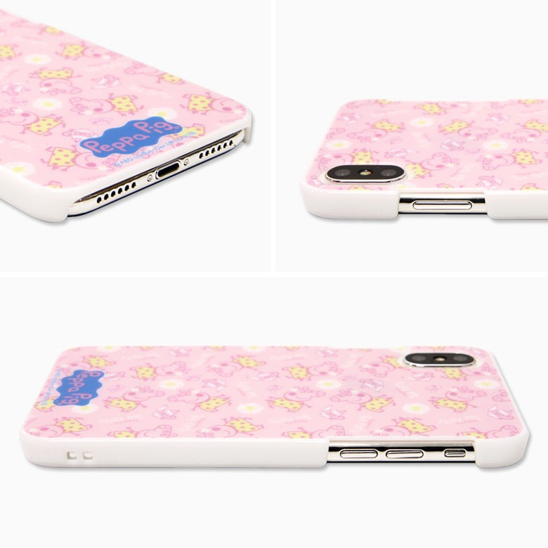 iPhone X用 ペッパピッグ ハードケース Tea party PPG-01Aの商品画像 2