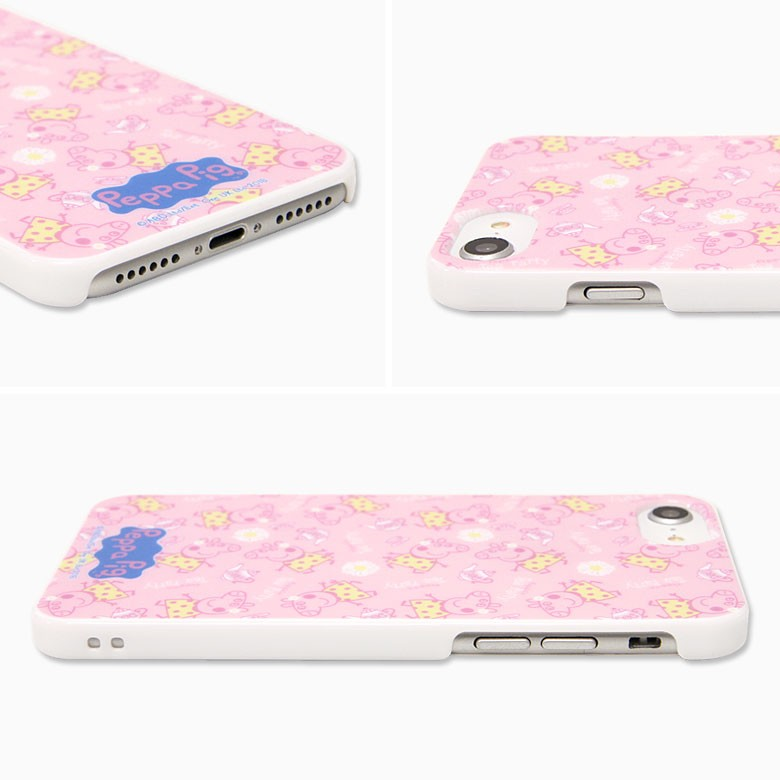 iPhone 8/7/6s/6用 ペッパピッグ ハードケース Tea party PPG-02Aの商品画像|2
