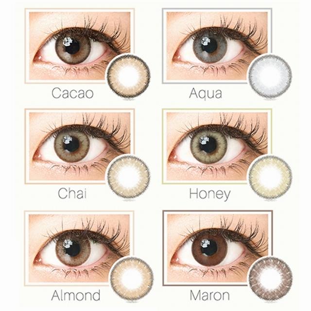 アイクオリティ株式会社 QUORE Luna ナチュラルシリーズ ワンデー カラー各種 10枚入り 1箱の商品画像 2